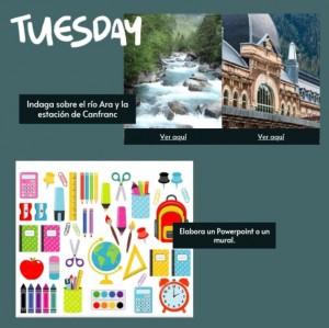 Semana Cultural Tuesday